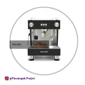 اسپرسوساز اسکاسو مدل باروان 1 گروپ Ascaso BAR ONE 1GR espresso machine