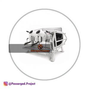 اسپرسو ساز دو گروپ سن رمو کافه ریسر (سفید مشکی) sanremo coffee racer espresso machine