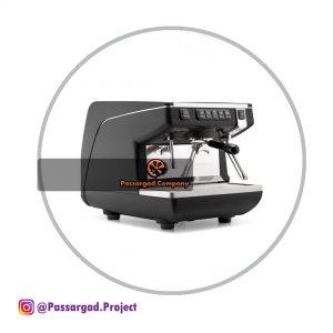 اسپرسو ساز سیمونلی یک گروپ مدل اپیا لایف simonelli Appia life volumetric 1group espresso machine