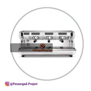 اسپرسوساز سیمونلی ۳ گروپ مدل اپیا لایف اتوماتیک simonelli Appia life volumetric 3group espresso machine