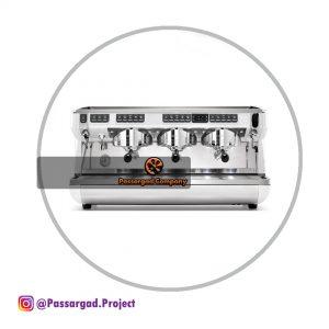 اسپرسوساز سیمونلی ۳ گروپ مدل اپیا لایف ایکس تی simonelli Appia life xt 3group espresso machine
