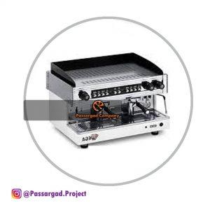 اسپرسو ساز وگا اوریون ۲ گروپ نیمه اتوماتیک Wega Orion Gold espresso machine