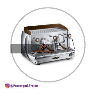 اسپرسوساز وگا مدل ولا وینتیج ۲ گروپ نیمه اتوماتیک Wega Vela Vintage espresso machine