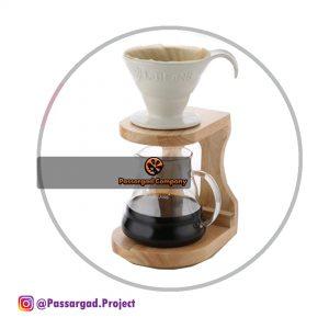 دریپر قهوه و هلدر ست کامل