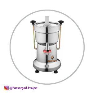 آب میوه گیری صنعتی هلال دهانه 5 سانتHellal Industrial Juicer Machine G100